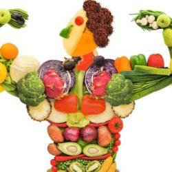 تغذیه سالم،بهداشت مواد غذایی و برنامه غذایی مناسب