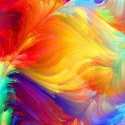 تاثیر رنگ بر روحیات انسان